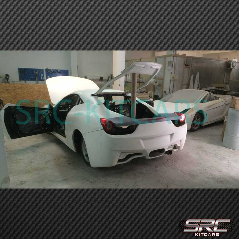 Src 458 Coupe Body Kit Toyota Celica T23 Donor Src Kit Cars